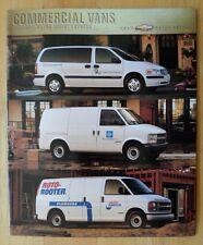 CHEVROLET commerciali furgoni e camion 2000 pubblicazione patinata-Venture Astro Express