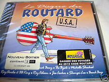 various LE DISQUE DU ROUTARD U.S.A. NEW RARE FRENCH 2CD