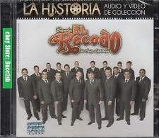 Banda El Recodo De Cruz La Historia Audio y Video de Coleccion CD+DVD New Nuevo