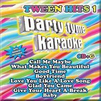 Various Artists : Party Tyme Karaoke: Tween Hits 1 CD
