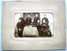 PHOTO CURÉ ABBÉ PRETRE SAUMUR 1887 ROY ANIS BELBEZE BOUTIN RULLIER BOUVET