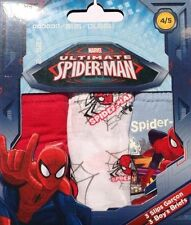 Marvel Ultimate Spider-Man * Jungen Slips * 3er Pack Unterhosen * Spiderman