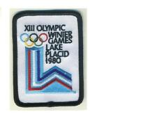 NHL 1980 WINTER OLYMPIC GAME PATCH LAKE PLACID BUFFALO SABRES NEW YORK ISLANDERS