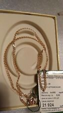 585 or 14 ct Russian Rose Gold Chain 3.93 gr. The length - 45 cm. (Diamond cut)