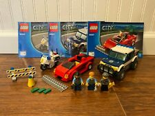 60007 LEGO City Police High Speed Chase - 100% Complete!