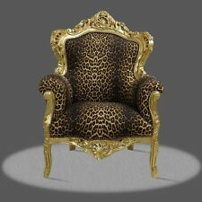 Poltrona Chair In Stile Barocco