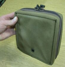 PADDED MODULAR TACTICAL COYOTE COYOTE ZIPPERED UTILITY POUCH USGI