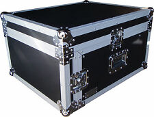 "Speed Case 19"" 7U amp / 12RU mixer slanted flight road case"