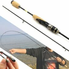 New Wooden Handle Lure rod Ultra  Light Spinning Fishing Rod Lure  Carbon Weight