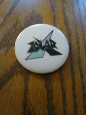 Zolar X Badge Button Music Pin