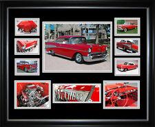 57 Chevrolet Framed Memorabilia