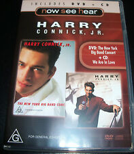 Harry Connick Jr We Are In Love + Live New York Big Band (Region 4) DVD