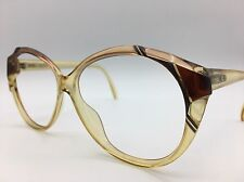 Saphira OPTYL Eyeglasses/Sunglasses Frame Germany 58-11-140 Amber Black & Brown