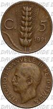 04357] REGNO ITALIA VITTORIO EMANUELE III - 5 CENTESIMI SPIGA 1921 2° tipo