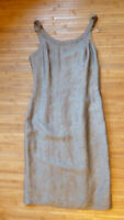 UNITED COLOR OF BENETTON Gray Sheath Dress Size XS