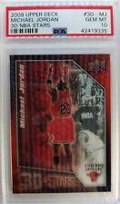 2009 09-10 Upper Deck 3D Stars Michael Jordan #3D-MJ, PSA 10, Low Pop 15 ! $
