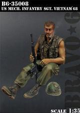 Bravo6 1:35 US Mechanized Infantry Vietnam '68 - Resin Figure #B6-35008
