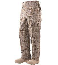 Desert digital camo pants Tru-Spec poly cotton twill Mens size M regular NWT