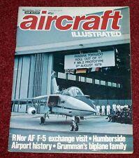 Aircraft Illustrated 1979 November Warton Tornado,Norwegian F-5,Humberside