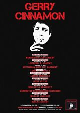 Reproduction Gerry Cinnamon - Concert Poster, Home Wall Art