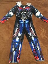 Transformers Boys Optimus Prime Costume Size Small