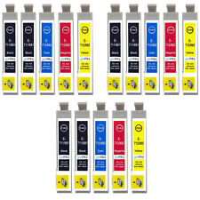 15 Ink Cartridges for Epson Stylus BX3450, DX4000, DX4050, DX7400, SX200
