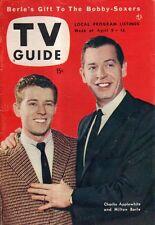 1954 TV Guide April 9-Jackie Gleason; Charlie Applewhite; Ann Sothern; Eva Saint