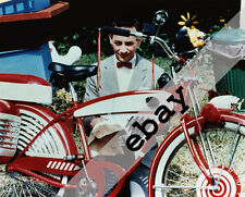Pee Wee Herman & his bike Paul Reubens 8X10 PHOTO #2087