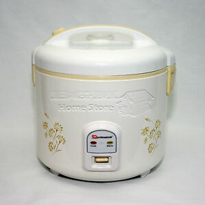 10 CUPS 1.8L LITRE NON STICK AUTOMATIC ELECTRIC RICE COOKER POT WARMER WARM COOK