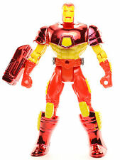 "Marvel Universe Series 1 Plasma Cannon IRON MAN 5"" Action Figure Toy Biz 1994"