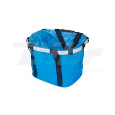 977AZ Borsa da trasporto 17 Lt per bici fissaggio manubrio colore blu