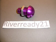 "Bilge Pump Hose Outlet Livewell 3/4"" Fitting 45 Degree Jet-ski Sea-doo Purple"