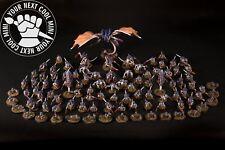 CUSTOM Warhammer 40k Tyranid Army PRO-PAINTED extra fine detail