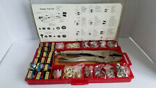 Vintage Snappy Fastener Tool Kit New Old Stock Full
