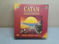 Catan Family Edition, Trade Build Settle Board Game 73002, Pre-own,Complete 2012