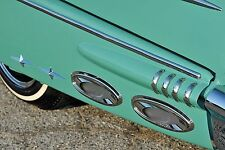 1950's 1960's Chevy Ford Pontiac Mercury Exhaust Ports Accessory Cruiser Skirts