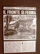 La Domenica del Corriere Inserto Grande Guerra WW1 Fronte Grappa Piave Treviso