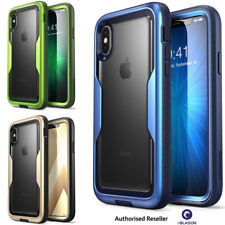iPhone XS Case i-Blason Magma Series Bumper Cover with Built-in Screen Protector