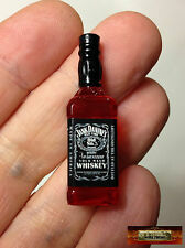 M00805 MOREZMORE Miniature Jack Daniels Whisky Bottle 1:6 Scale Mini Prop T20