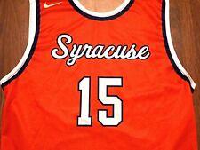 Vintage Syracuse Orange #15 Basketball Jersey by Nike, Adult Large, Anthony