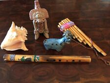 Ethnic Musical Wind Instruments