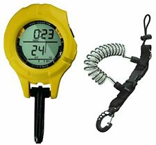 Oceanic B.U.D. Back Up Scuba Diving Computer (Pdc only) w/ Coil Lanyard