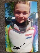 Foto m.Orig.AG Jarno de Vries HOL Grasbahn / Speedway Weltklasse