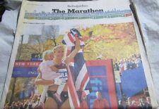 2008 NY Marathon insert The New York Times November 3 2008 Paula Radcliffe