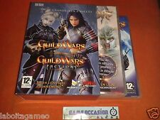 GUILD WARS + GUILD WARS FACTIONS BOX PC CD-ROM WINDOWS COMPLETE