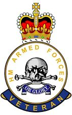 17th/21 Lancers HM Armed Forces Veterans Clear Cling Sticker 17/21 Lancers