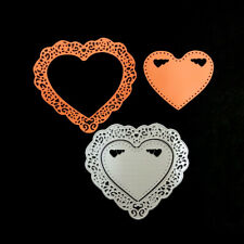 Lovely Hearts Round Cutting die for Scrapbooking Paper Crafts Embossing Machines