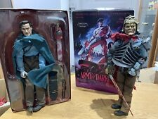 """Sideshow Action detailed Figure 12"""" Evil Ash & ASH ARMY Of Darkness BUNDLE"""
