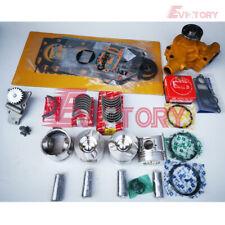 Komatsu 4D95L 4D95LE piston + 0.50 ring gasket bearing water oil pump