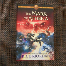 Mark of Athena Rick Riordan HC
